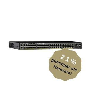Cisco Catalyst 2960-X 48 GigE, 4 x 1G SFP, LAN Base (Cisco Refresh)