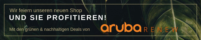 Eröffnungsangebote Aruba Renew