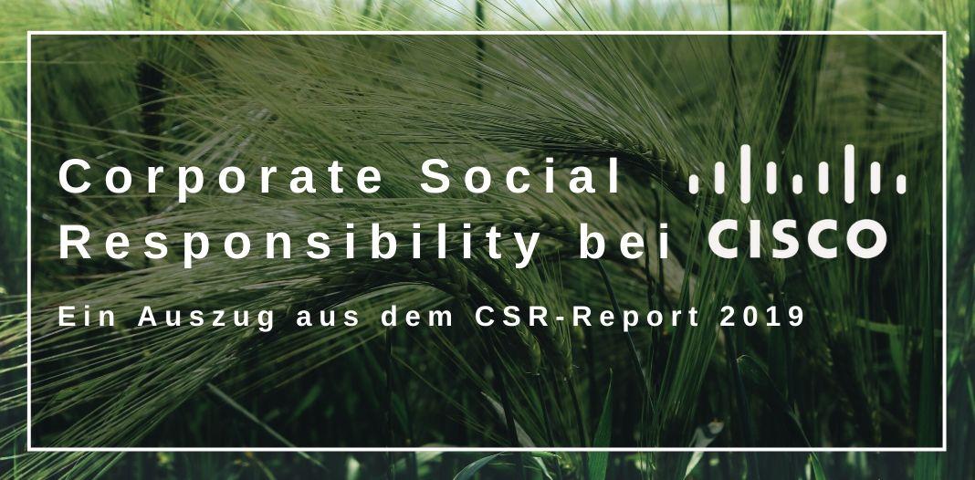 Corporate Social Responsibility bei Cisco