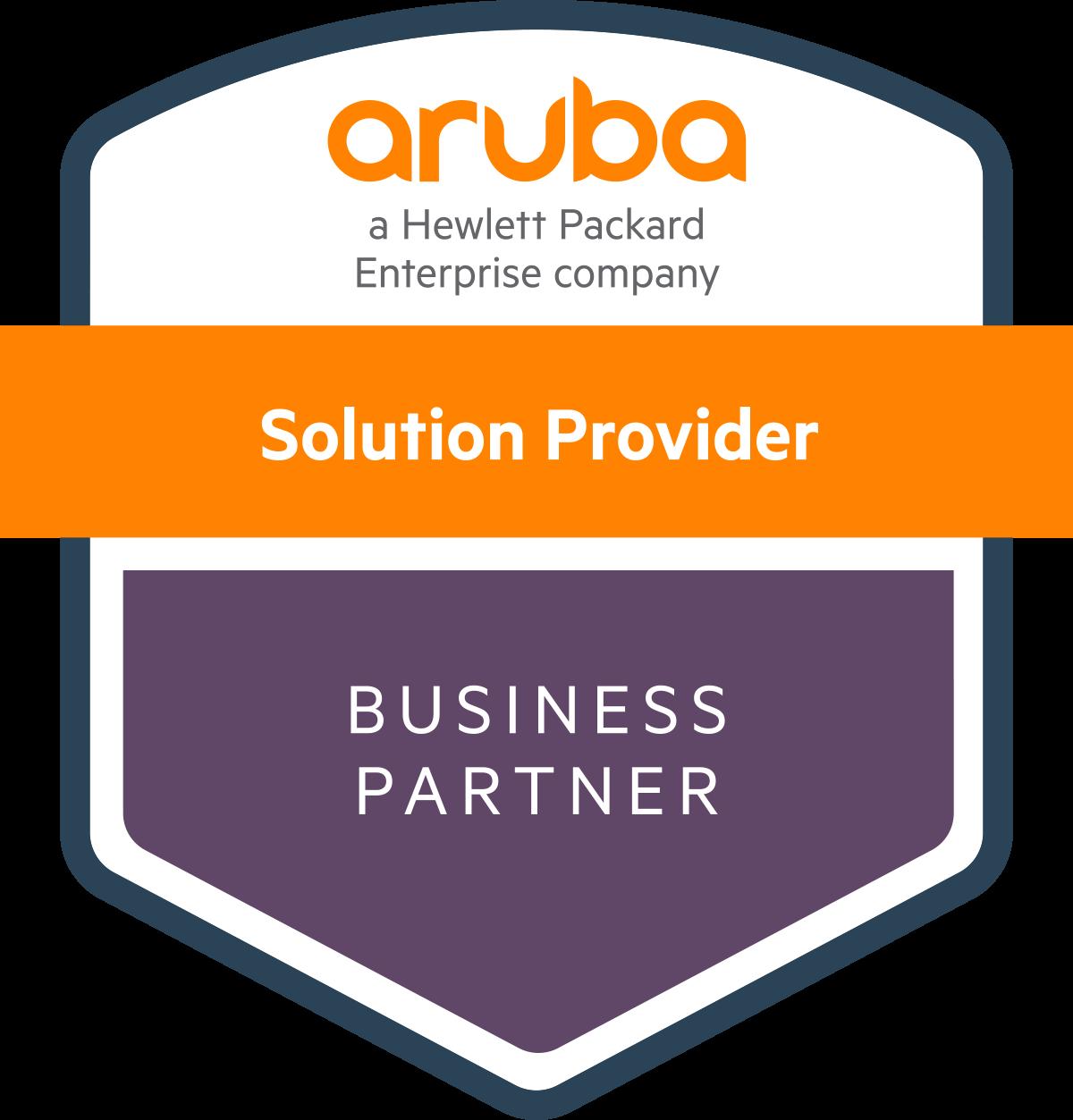 Aruba Partner Status