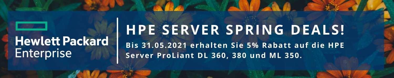 Die Server Spring Deals von HPE