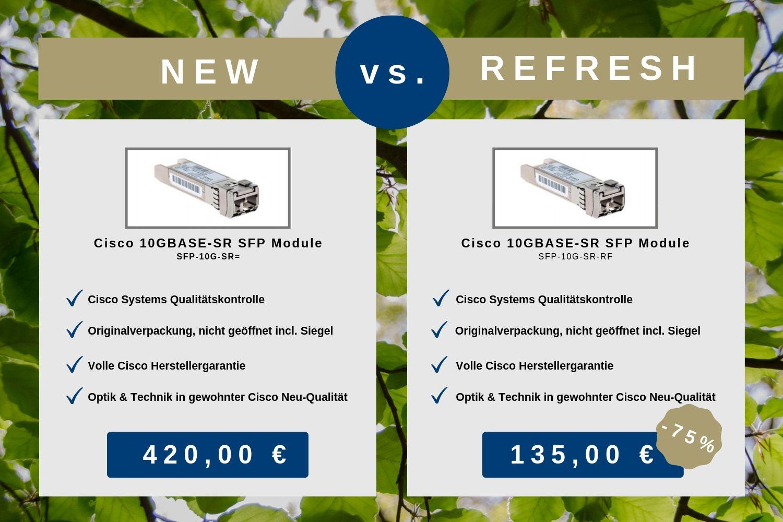 Cisco 10GBASE-SR SFP Module (Cisco Refresh)