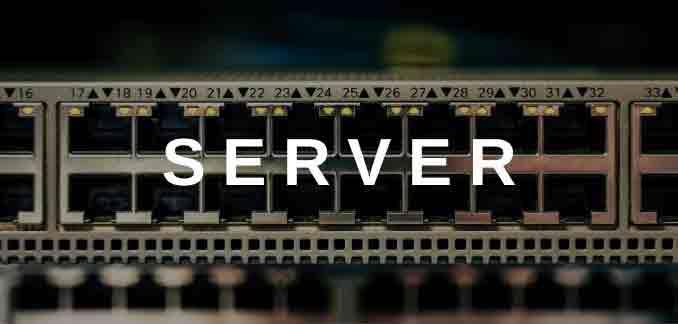 Server bei SCALCOM