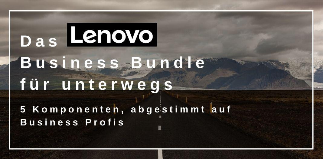 Lenovo Business Bundle für unterwegs