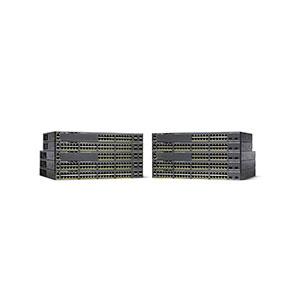 Cisco Catalyst 2960-X 24 GigE PoE 370W 2 x 10G SFP+ LAN Base (Cisco Refresh) WS-C2960X-24PDL-RF