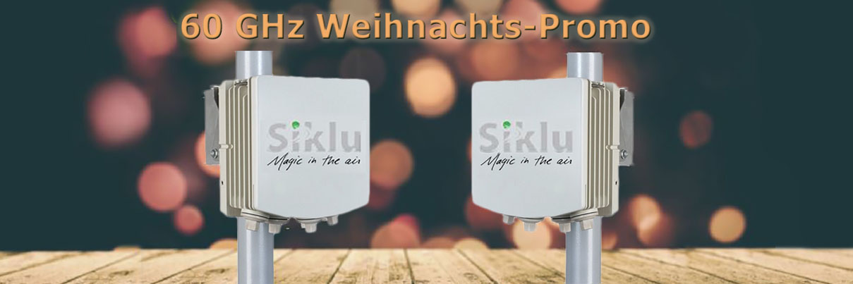 SCALCOM's 60 GHz Weihnachts-Promotion