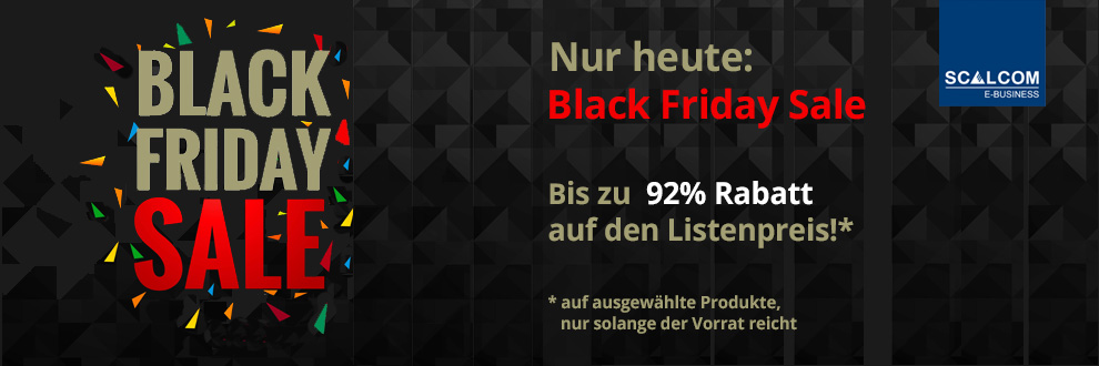 Black Friday bei SCALCOM