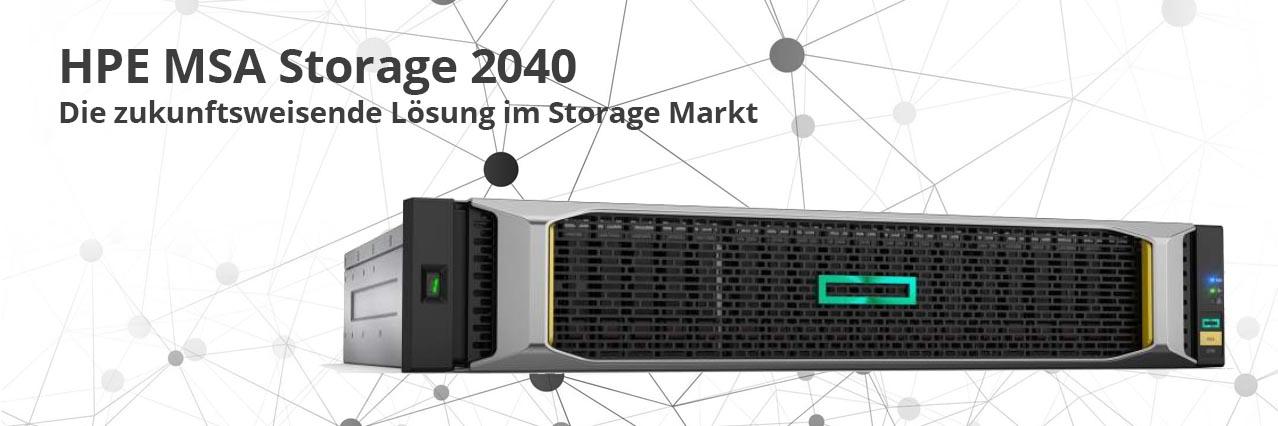 HPE MSA Storage 2040