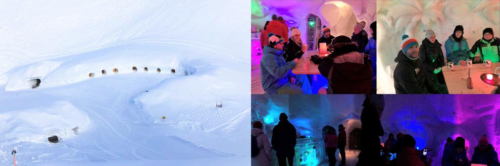 Iglu-Event am Nebelhorn