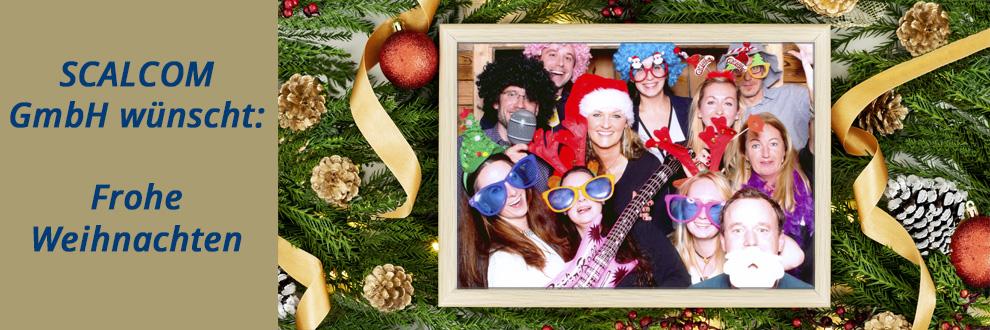 SCALCOM GmbH wünscht: Frohe Weihnachten