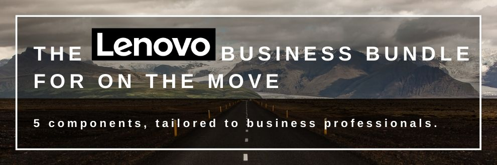 Lenovo Business Bundle for on the move