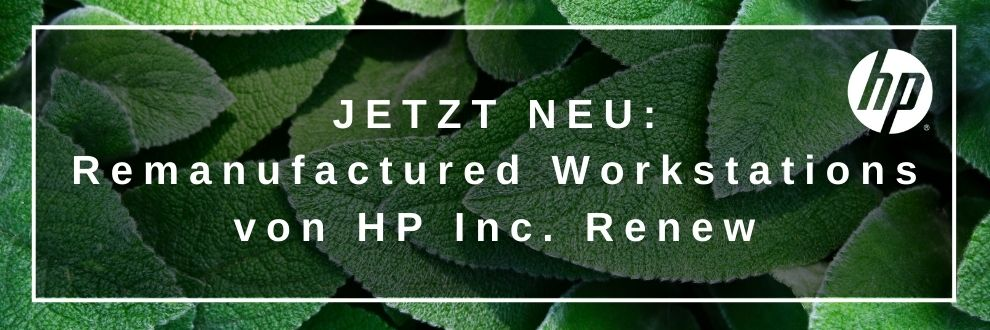 HP Inc Renew, remanufactured Workstations